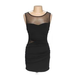 Ruby Rox Black Bodycon Dress